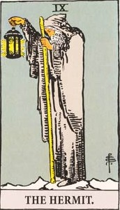 tarot - the hermit
